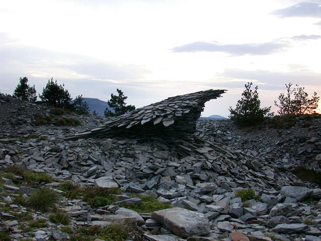 Oiseau. Une sculpture de Louis Perrin