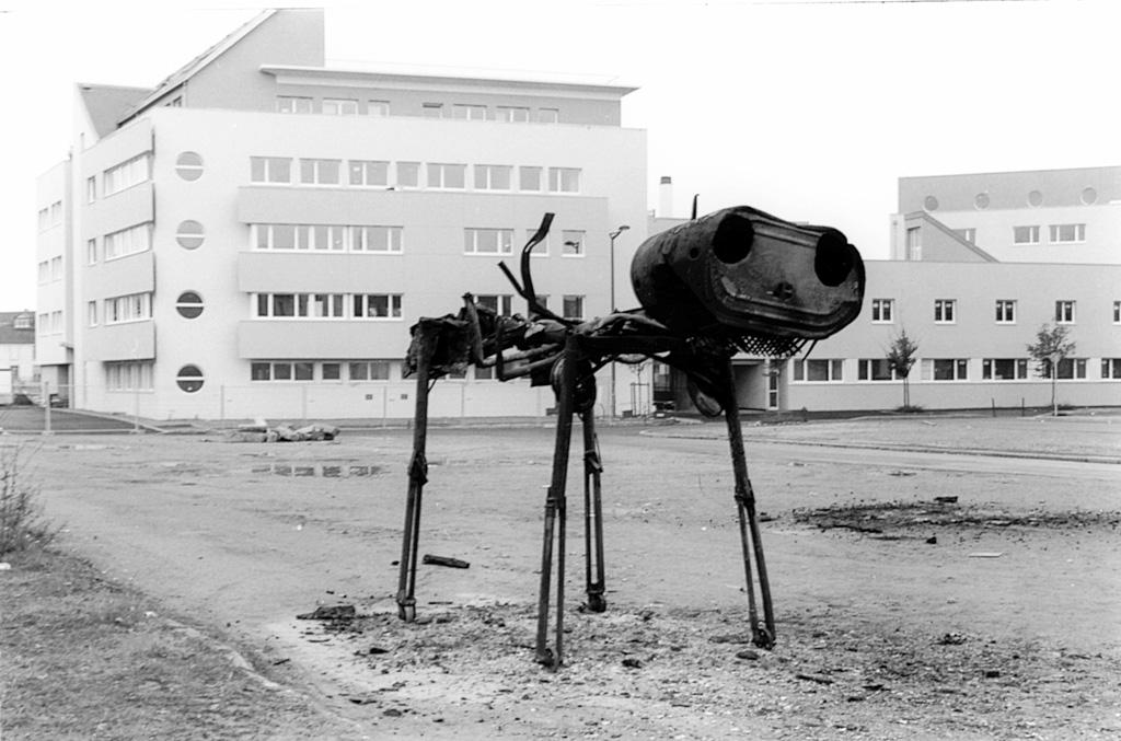 Sacrifice de l'Autosaure. Une installation-performance de Louis Perrin