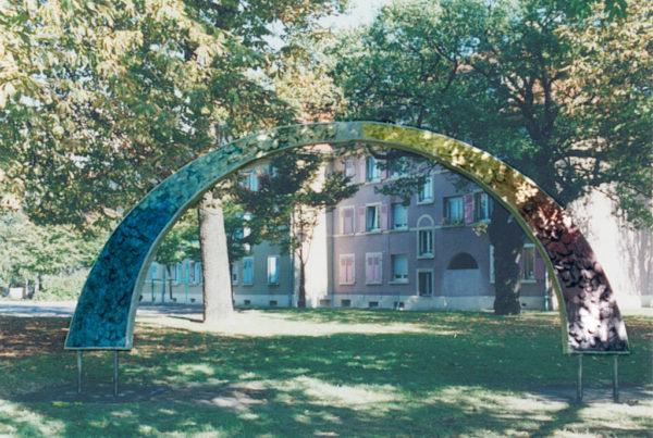 L'Arche. Une sculpture de Louis Perrin