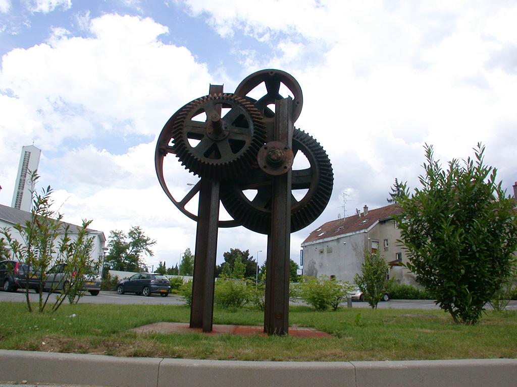 Clepsydre. Une sculpture de Louis Perrin
