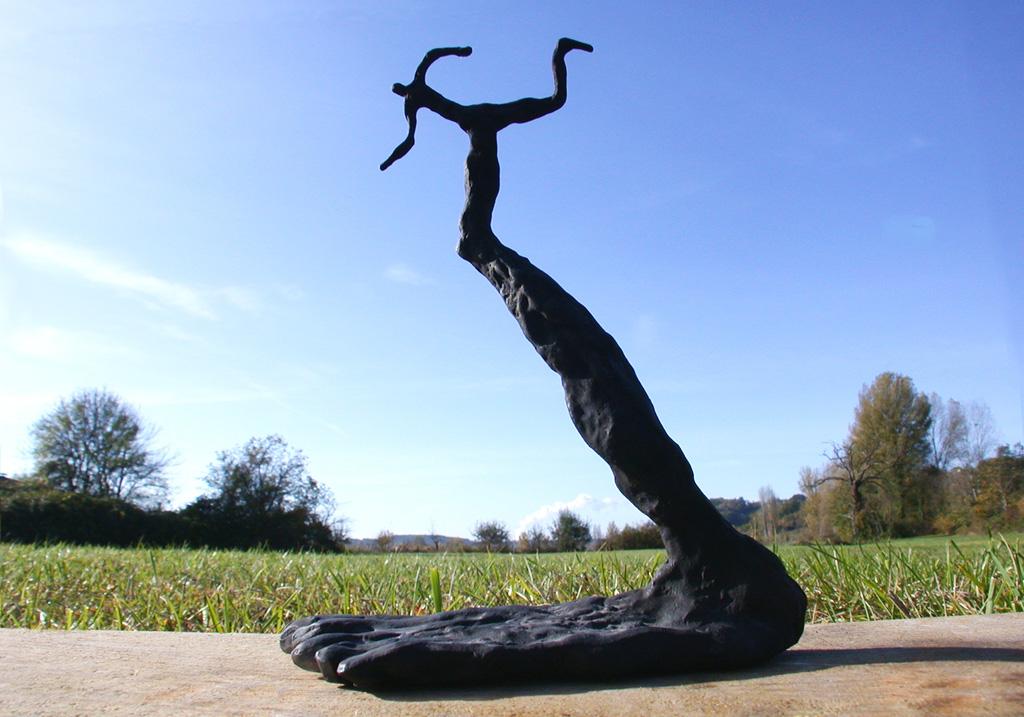 Zep courant. Une sculpture de Louis Perrin