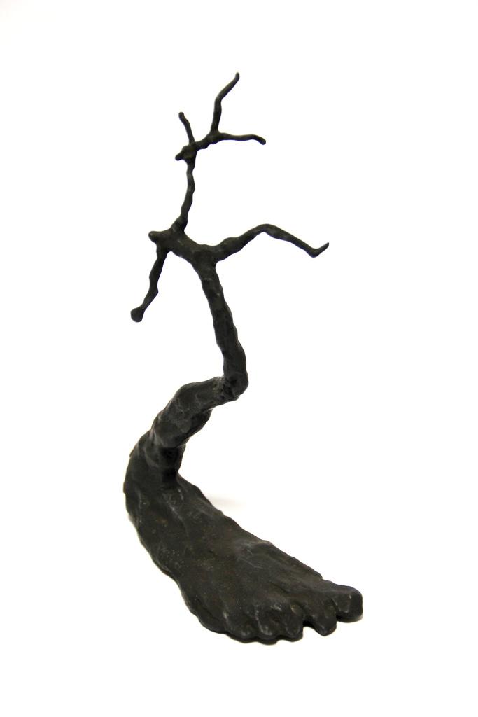 2 Zeps ensemble. Une sculpture de Louis Perrin