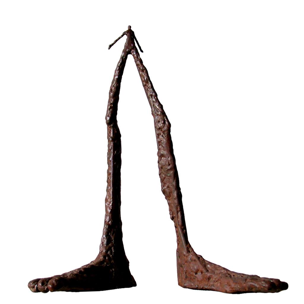 Zep debout. Une sculpture de Louis Perrin